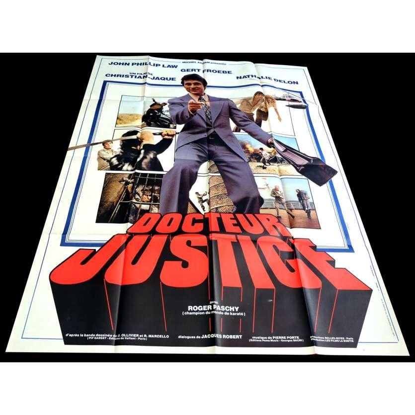 DOCTEUR JUSTICE Affiche de Film 120x160 - 1975 - John Phillip Law , Christian Jacque