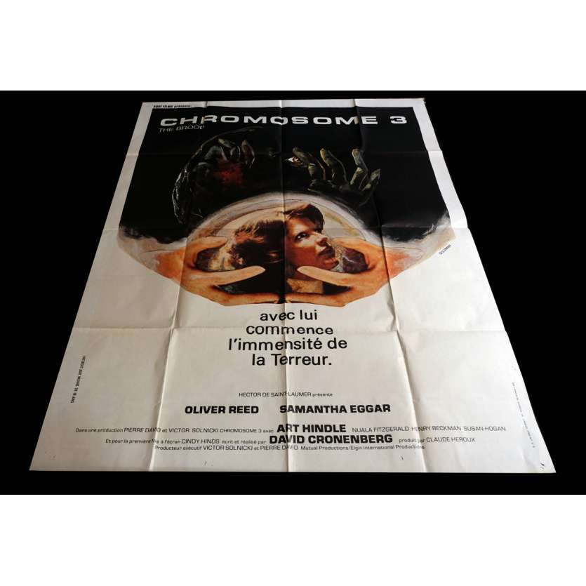 THE BROOD French Movie Poster 47x63 - 1979 - Christopher Walken, Oliver Reed
