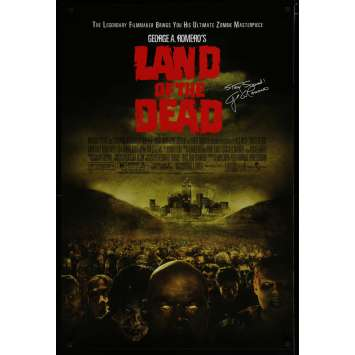 LAND OF THE DEAD US Movie Poster 29x41 - 2005 - George A. Romero, Asia Argento