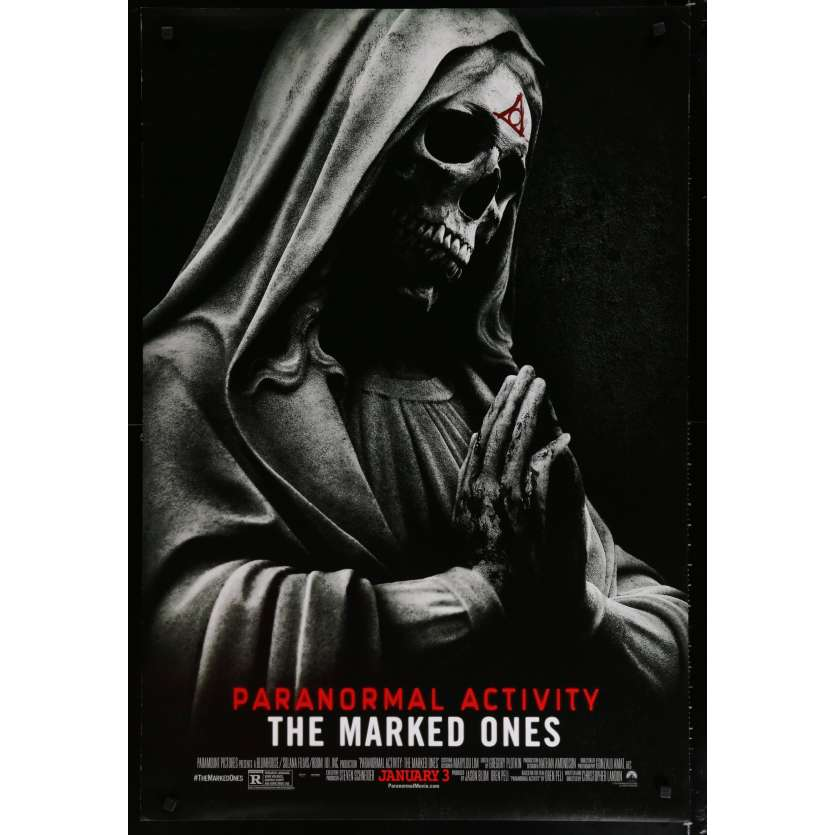 PARANORMAL ACTIVITY THE MARKED ONES US Movie Poster 29x41 - 2014 - Christopher Landon, Andrew Jacobs