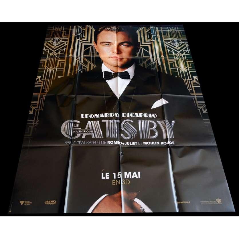 GATSBY Affiche de film 120x160 - 2013 - Leonardo Dicaprio, Baz Luhrmann
