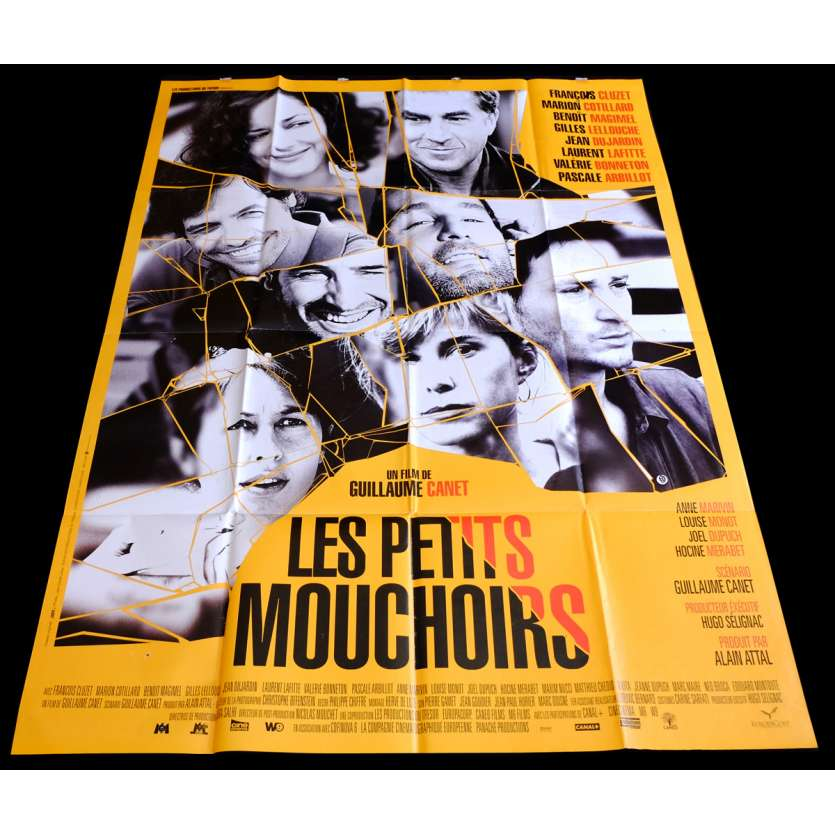 LITTLE WHITE LIES French Movie Poster 47x63 - 2010 - Guillaume Canet, François Cluzet
