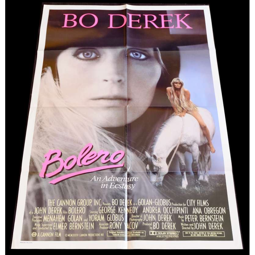 BOLERO Affiche de film 69x104 - 1983 - Bo Derek, John Derek