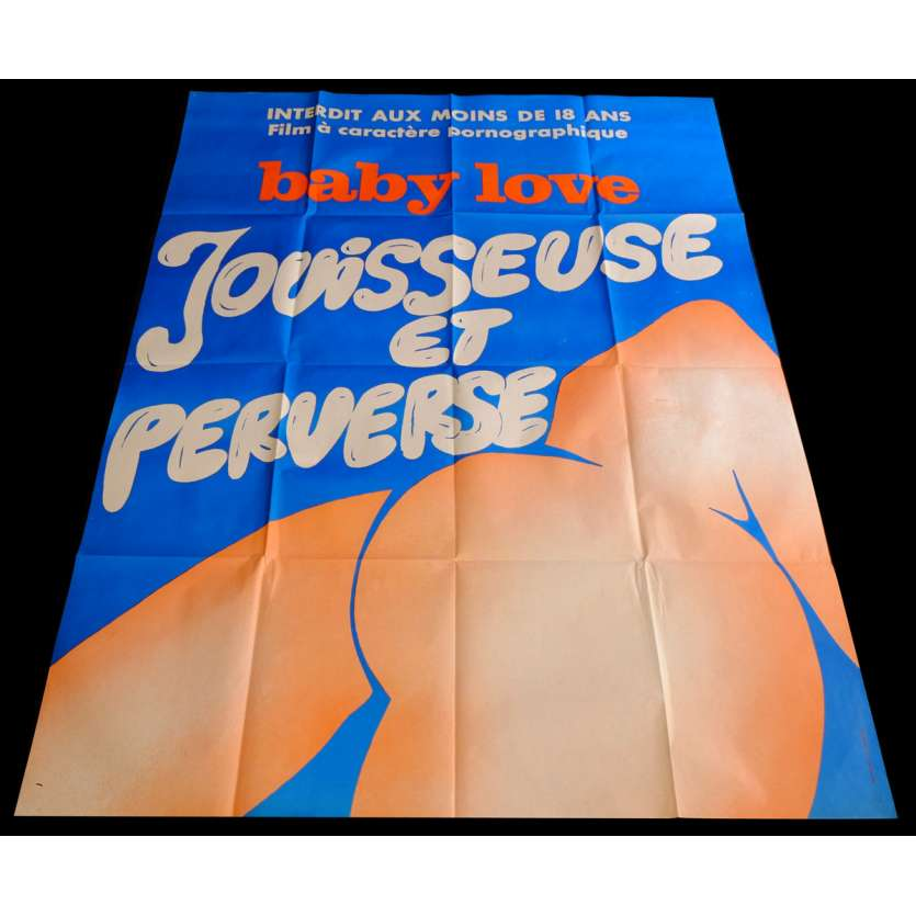 BABY LOVE French Movie Poster 47x63 - 1978 - Michel Caputo, Sophie Guers