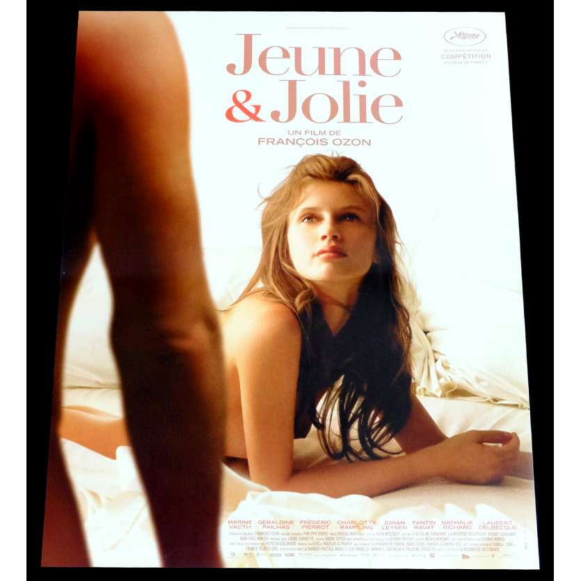 JEUNE ET JOLIE Affiche de film 40x60 - 2014 - Marine Vacth, François Ozon