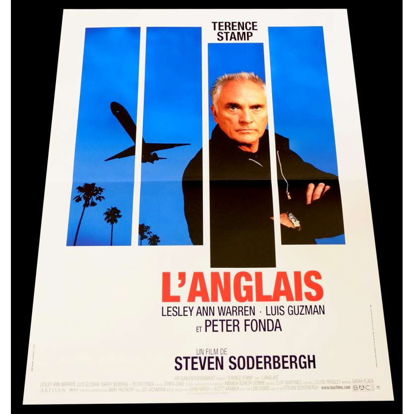 THE LIMEY French Movie Poster 15x21 - 1999 - Steven Soderbergh, Terence Stamp