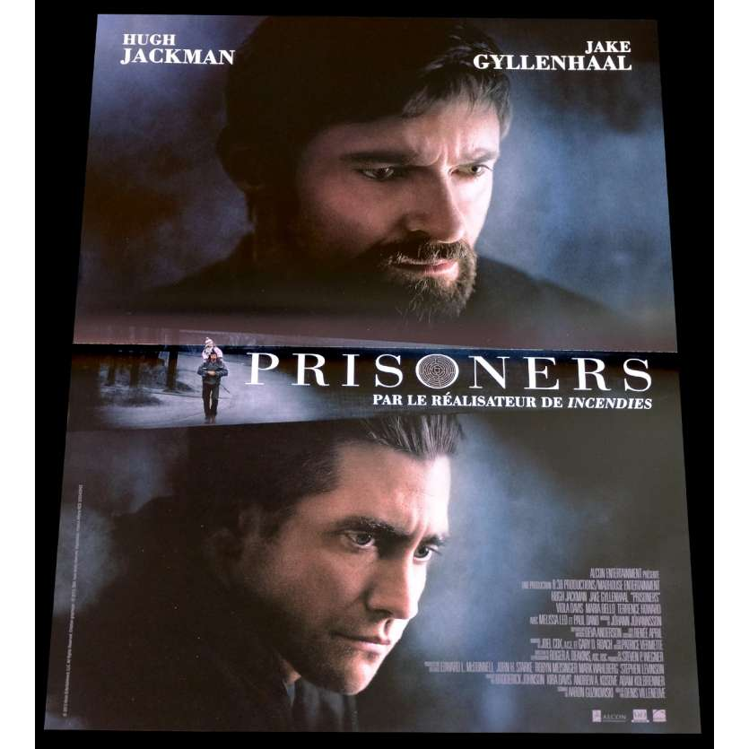 PRISONNERS French Movie Poster 15x21 - 2014 - Denis Villeneuve, Hugh Jackman