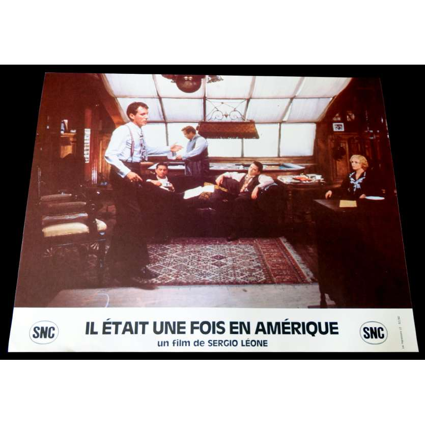 ONCE UPON A TIME IN AMERICA French Lobby Card 2 9x12 - 1984 - Sergio Leone, Robert de Niro