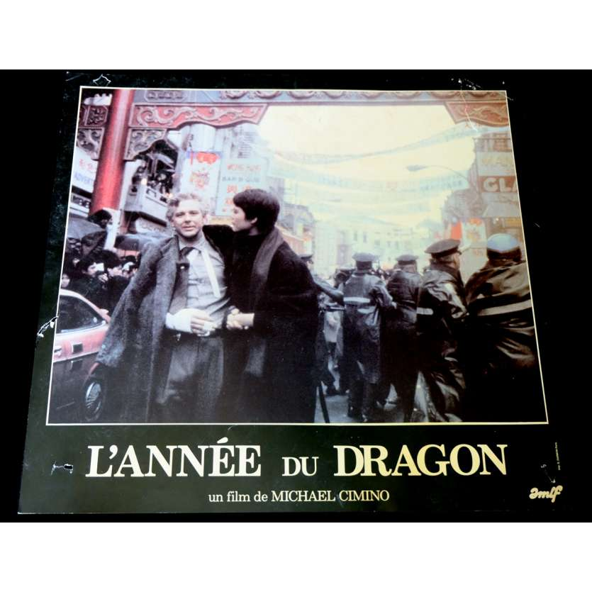 L'ANNEE DU DRAGON Photo de film 3 30x40 - 1985 - Mickey Rourke, Michael Cimino