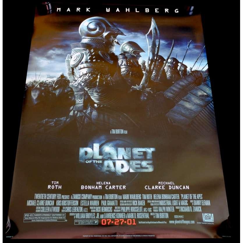 PLANET OF THE APES US Movie Poster 29x41 - 2002 - Tim Burton, Michael Whalberg