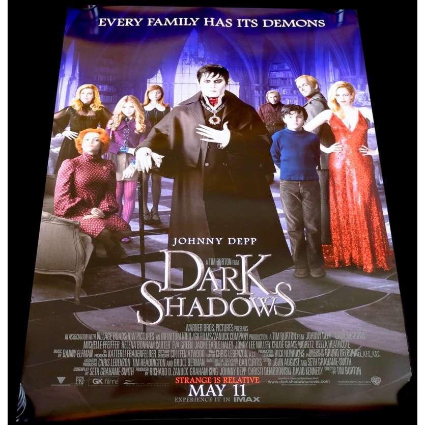 DARK SHADOWS Affiche de film 69x104 - 2002 - Johnny Depp, Tim Burton