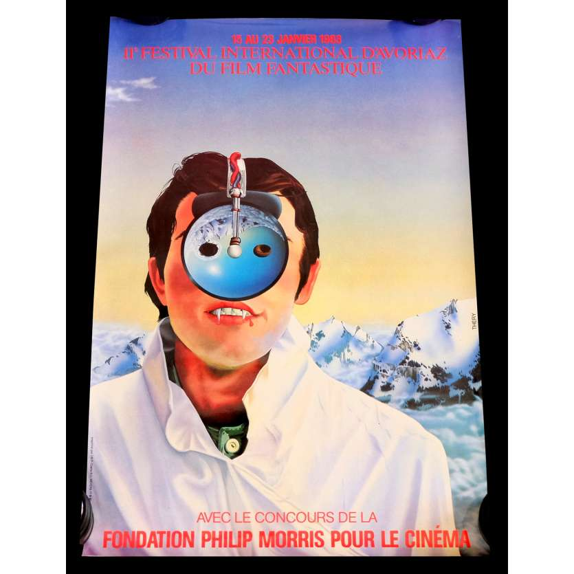 AVORIAZ FESTIVAL French Official Poster 15x21 - 1983 - Thery