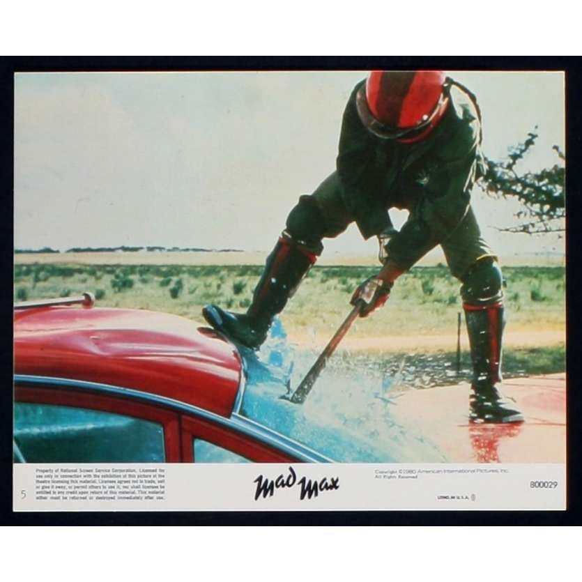 MAD MAX US Lobby Card 3 8x10 - 1979 - George Miller, Mel Gibson