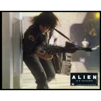 ALIEN French Lobby Card 8 8x10 - 1979 - Ridley Scott, Sigourney Weaver