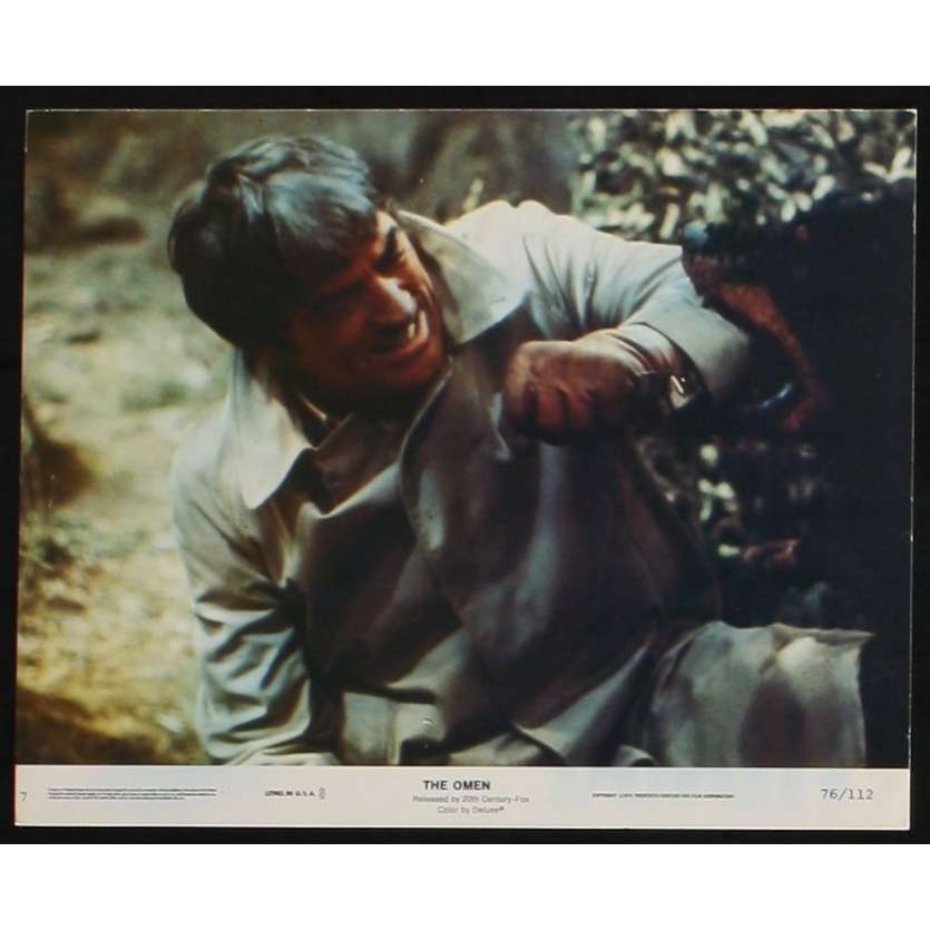 LA MALEDICTION Photo de film 3 20x25 - 1976 - Gregory Peck, Richard Donner