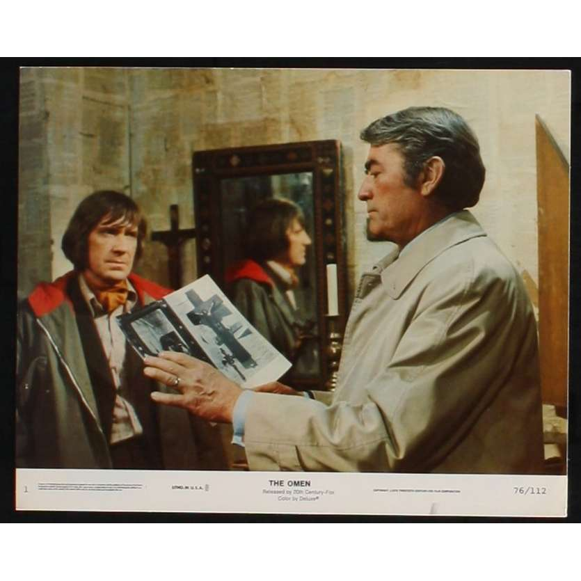 OMEN US Still 1 8x10 - 1976 - Richard Donner, Gregory Peck