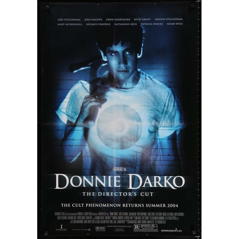 DONNIE DARKO US Movie Poster 29x41 - 2004 - Richard Kelly, Jake Gyllenhal