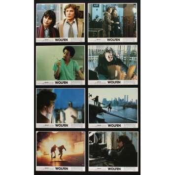WOLFEN Photos de film x8 20x25 - 1981 - Albert Finney, Michael Wadleigh