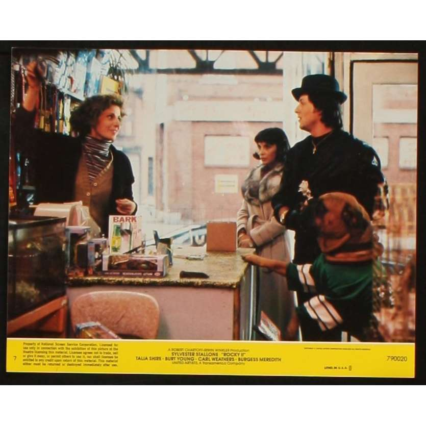 ROCKY II US Lobby Card 4 8x10 - 1979 - Sylvester Stallone, Carl Weathers