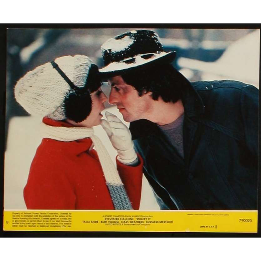 ROCKY II US Lobby Card 3 8x10 - 1979 - Sylvester Stallone, Carl Weathers
