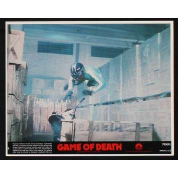 GAME OF DEATH US Lobby Card 6 8x10 - 1978 - Robert Clouse, Bruce Lee