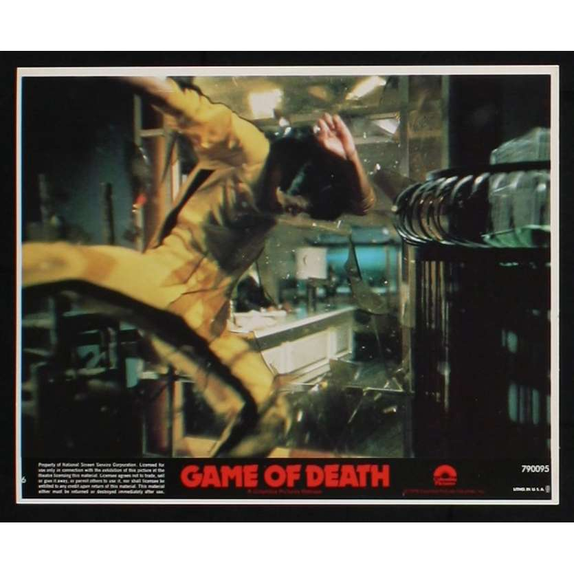 GAME OF DEATH US Lobby Card 5 8x10 - 1978 - Robert Clouse, Bruce Lee