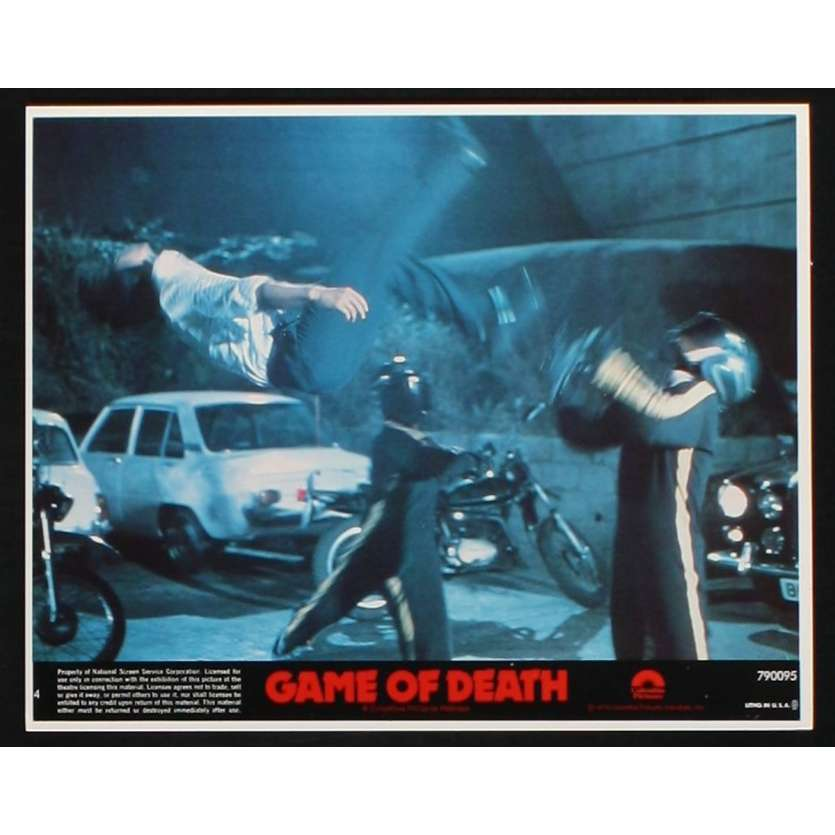 GAME OF DEATH US Lobby Card 4 8x10 - 1978 - Robert Clouse, Bruce Lee