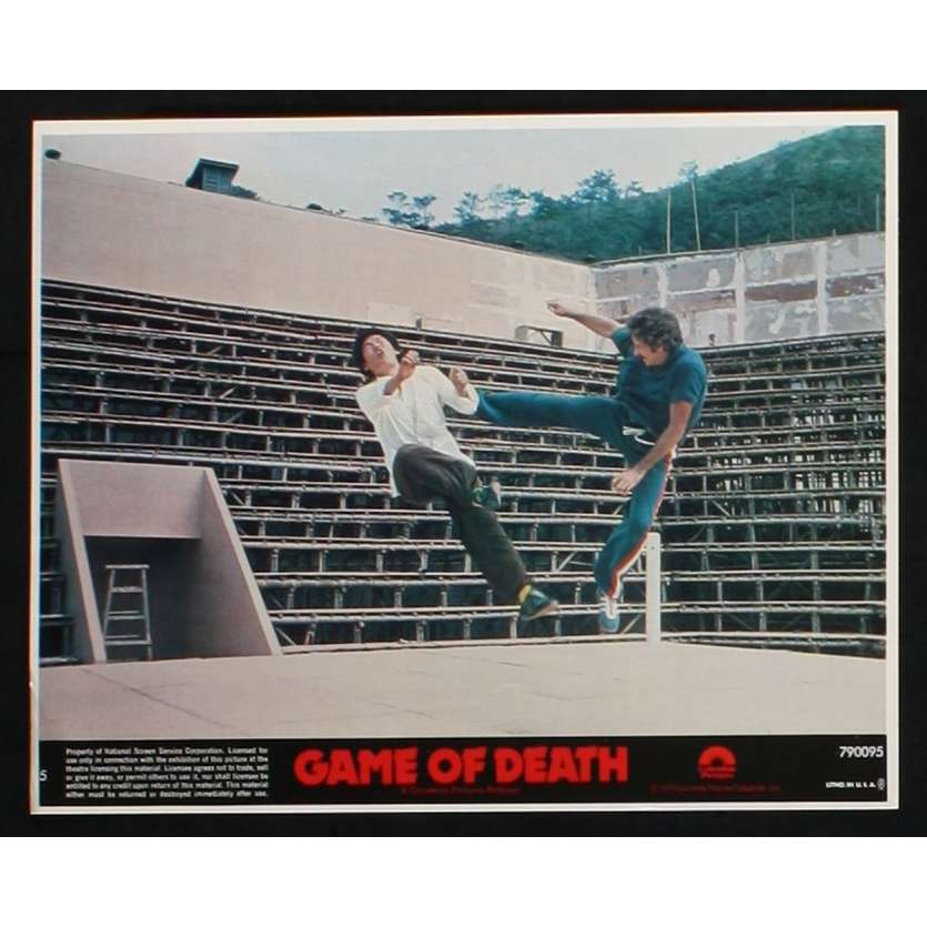 GAME OF DEATH US Lobby Card 3 8x10 - 1978 - Robert Clouse, Bruce Lee