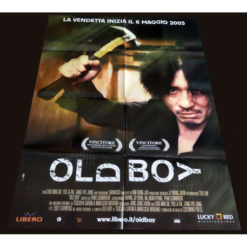 OLDBOY Italian Movie Poster 39x55 - 2003 - Park Chan-wook, Choi Min-sik