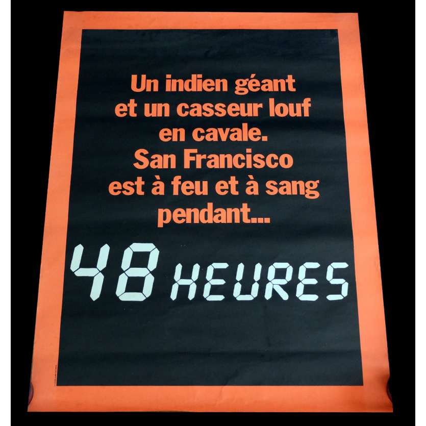 48 HEURES Style A Adv. Affiche de film 60x80 - 1984 - Eddie Murphy, Walter Hill