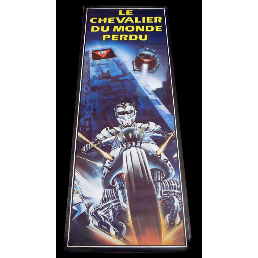 LE CHEVALIER DU MONDE PERDU Affiche de film 60x160 - 1983 - Robert Ginty, David Worth