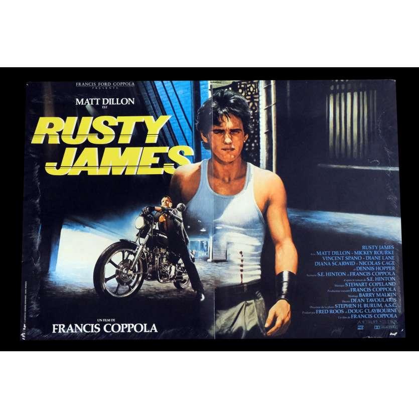 RUSTY JAMES Affiche de film 40x60 - 1983 - Matt Dillon, Francis Ford Coppola