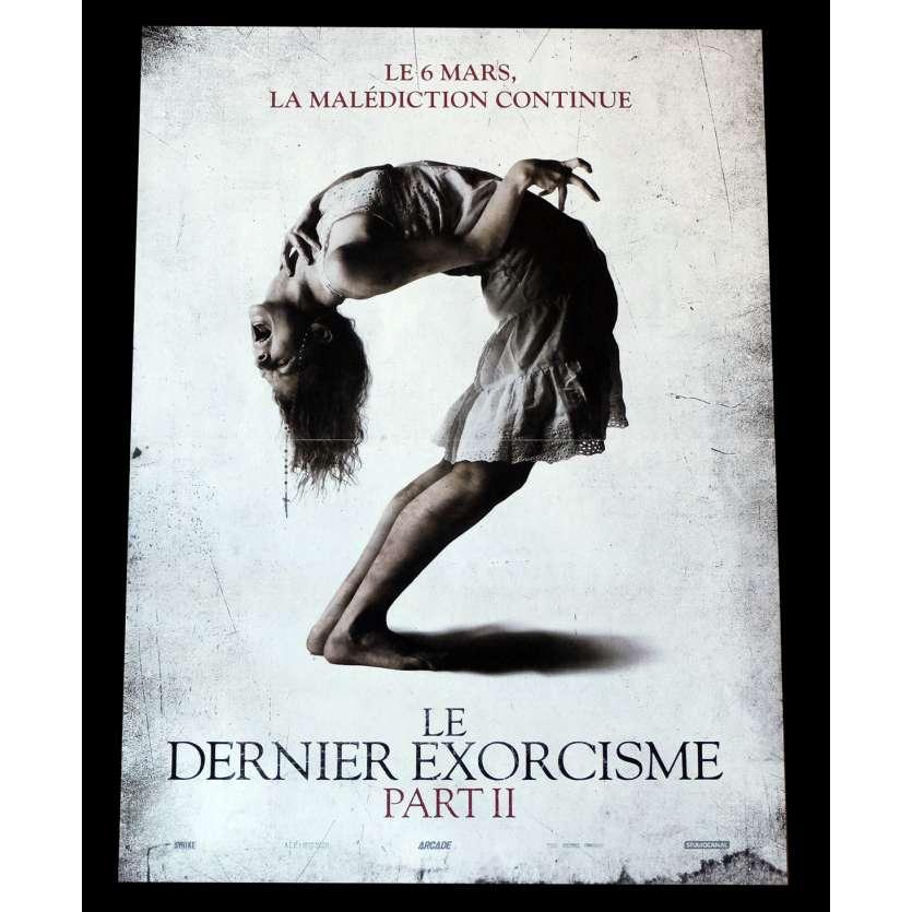 LE DERNIER EXORCISME PART II Affiche de film 40x60 - 2013 - Ashley Bell, Ed Gass