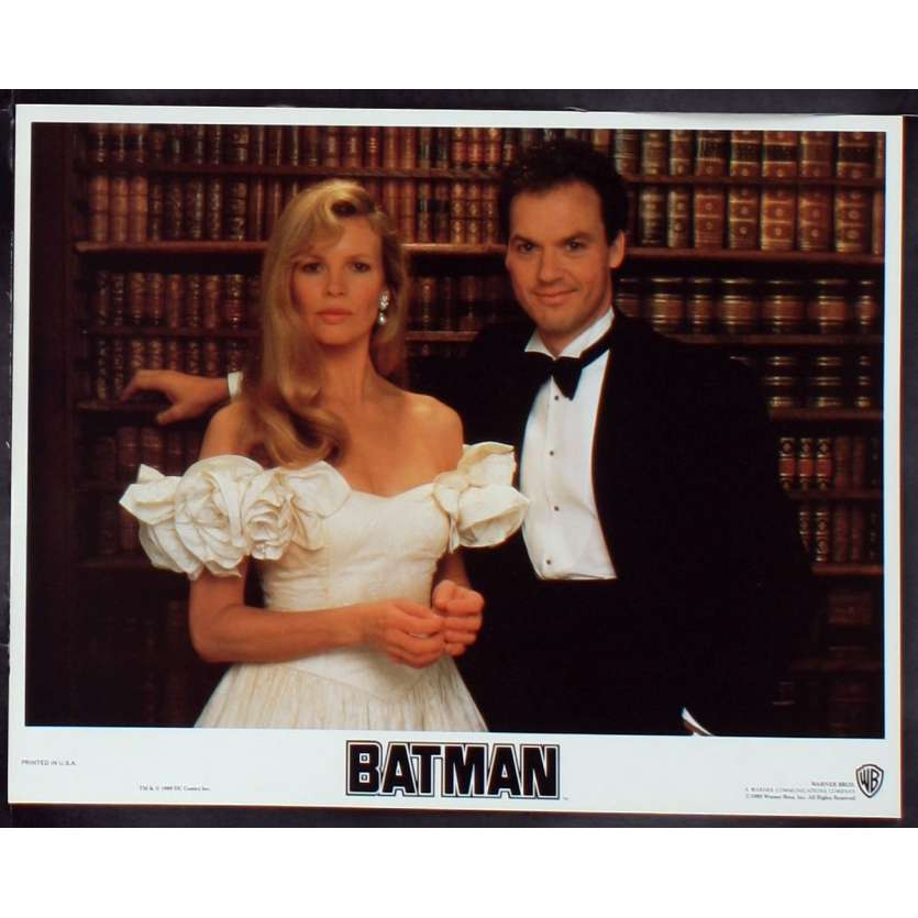 BATMAN Photos de film N4 28x36 - 1989 - Jack Nicholson, Tim Burton