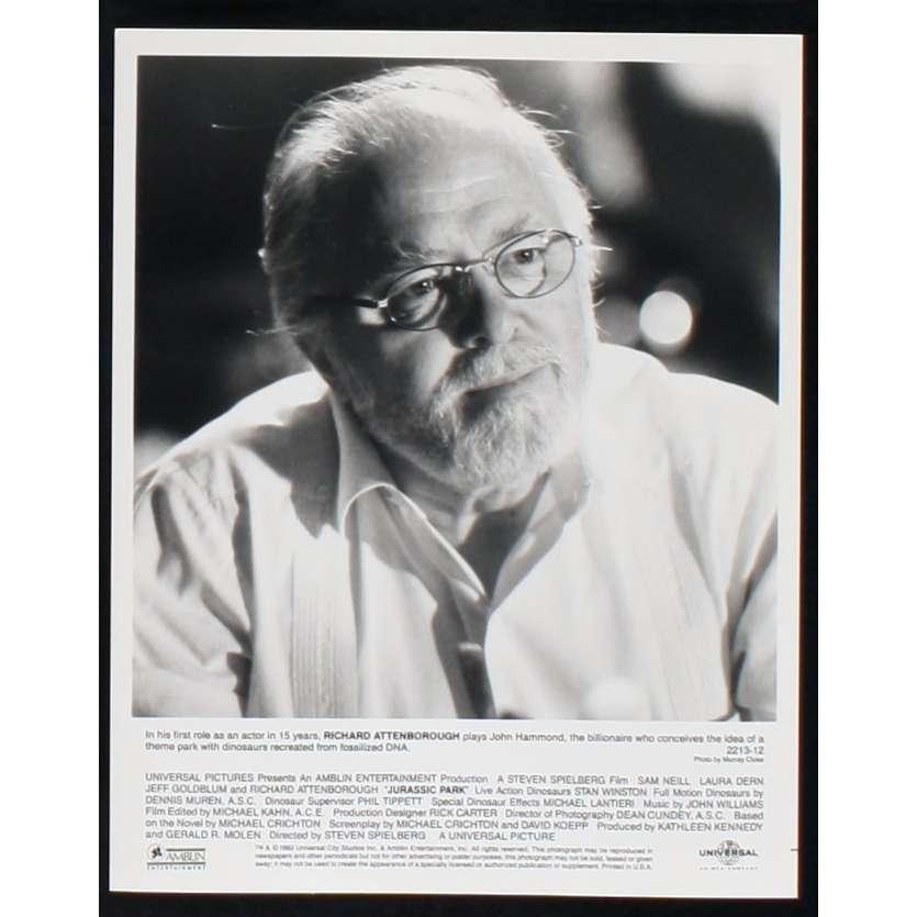 JURASSIC PARK US Still N6 8x10 - 1993 - Steven Spielberg, Sam Neil