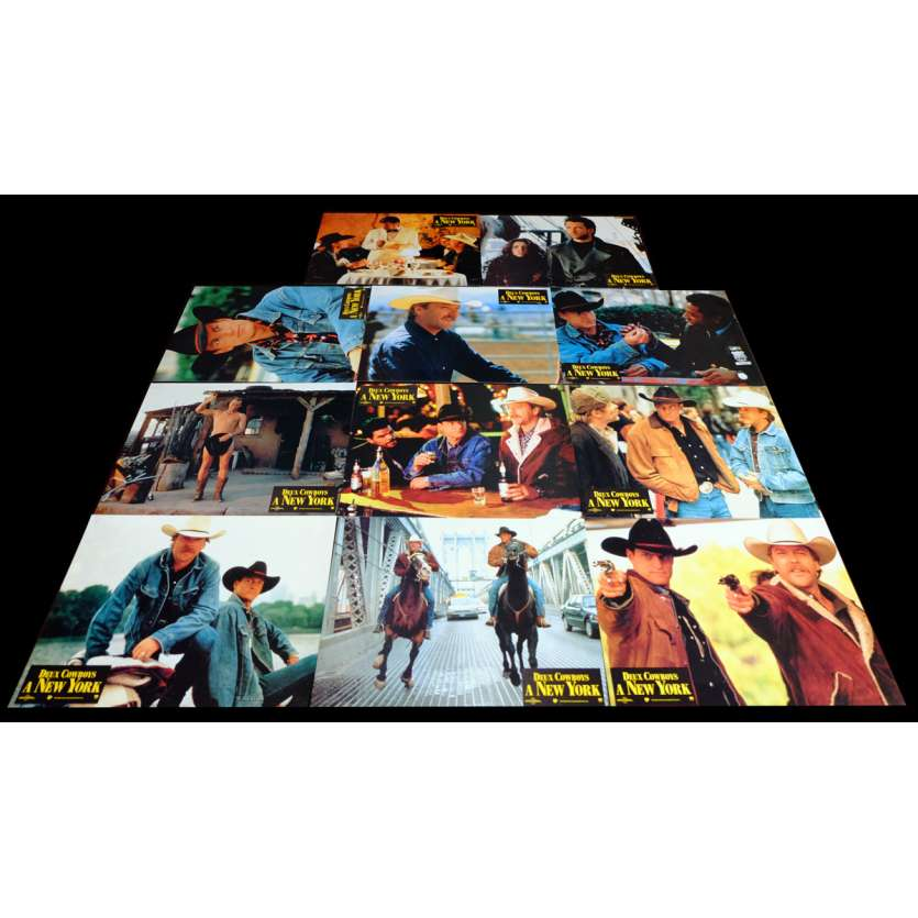 DEUX COWBOYS A NEW-YORK Photos x4 21x30 - 1994 - Woody Harrelson, Gregg Champion