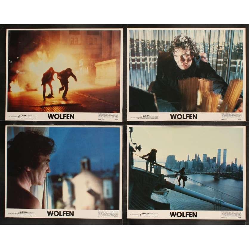 WOLFEN US Lobby Cards x8 11x14 - 1981 - Michael Wadleigh, Albert Finney