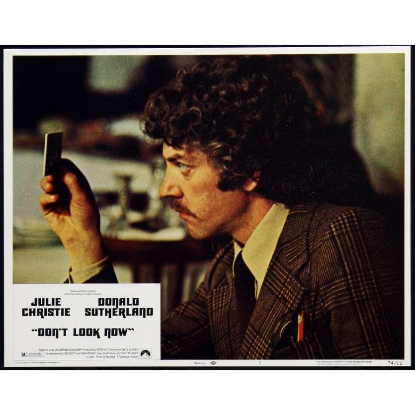 NE VOUS RETOURNEZ PAS Photo de film 1 28x36 - 1974 - Donald Sutherland, Nicholas Roeg