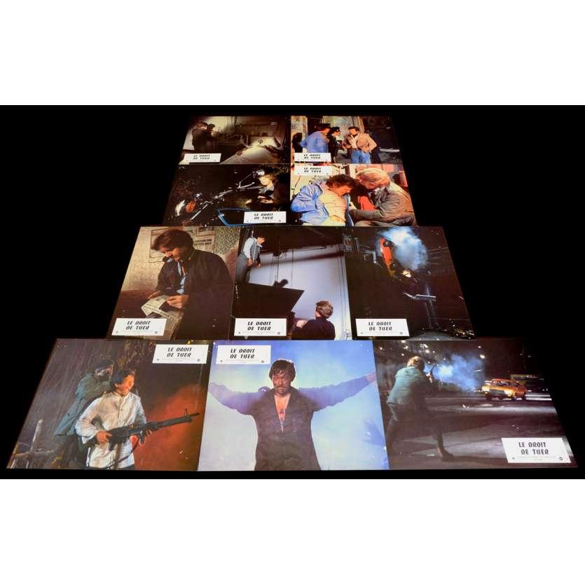 EXTERMINATOR French Lobby Cards x10 9x12 - 1981 - James Glickenhaus, Robert Ginty