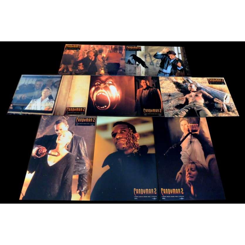 CANDYMAN 2 French Lobby Cards x8 9x12 - 1995 - Bill Condon, Tony Todd