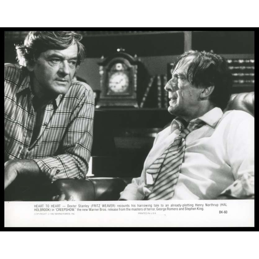CREEPSHOW Photo de presse 9 20x25 - 1982 - Stephen King, George A. Romero