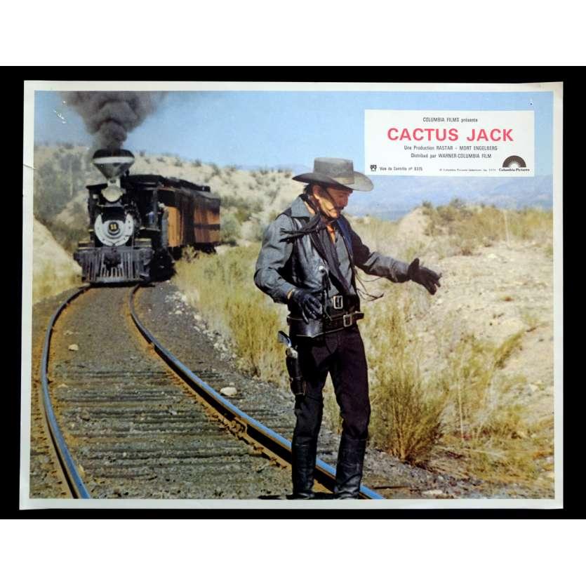 CACTUS JACK French Lobby Card 9x12 - 1979 - Kirk Douglas, Arnold Schwarzenegger