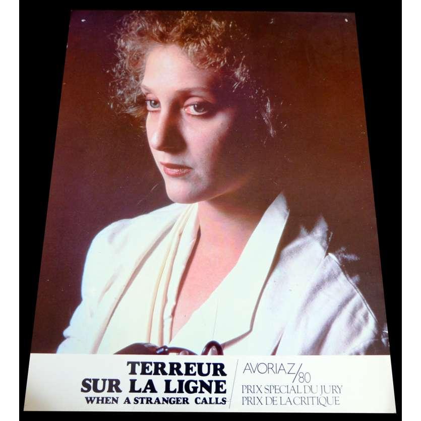 WHEN A STRANGER CALLS French Lobby Card 9x12 - 1979 - Fred Walton, Carol Kane