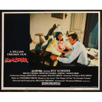 SORCERER US Lobby Card 1 11x14 - 1977 - William Friedkin, Roy Sheider