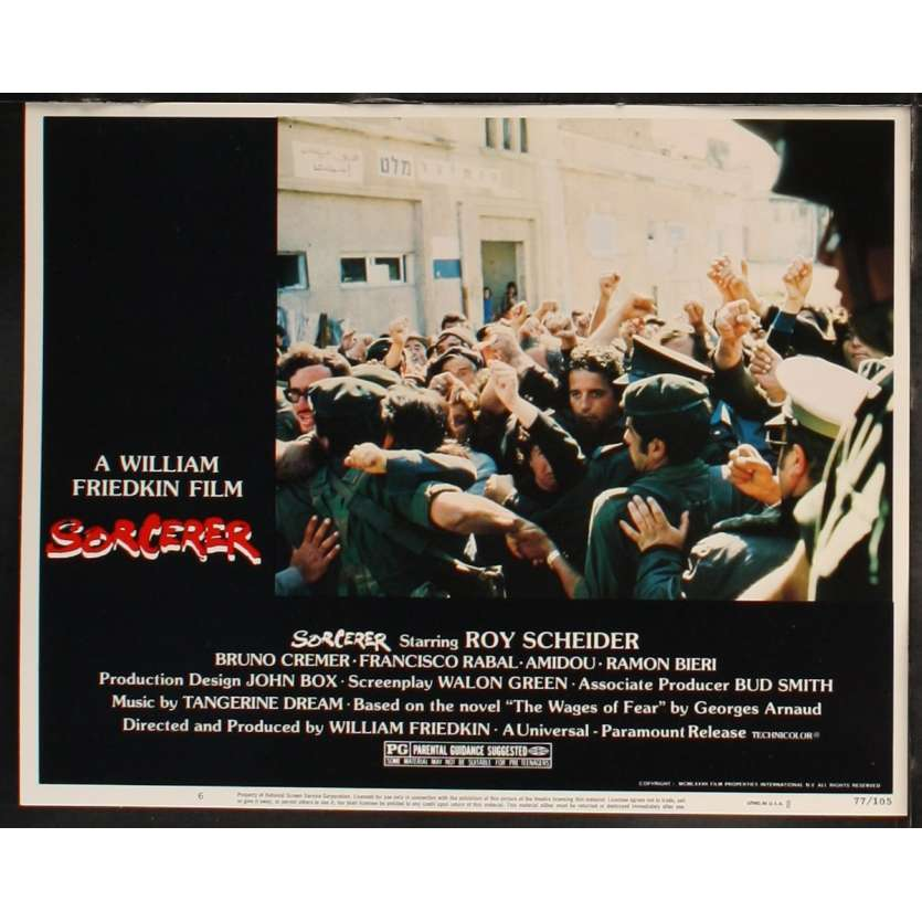 SORCERER US Lobby Card 3 11x14 - 1977 - William Friedkin, Roy Sheider