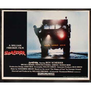 SORCERER US Lobby Card 4 11x14 - 1977 - William Friedkin, Roy Sheider
