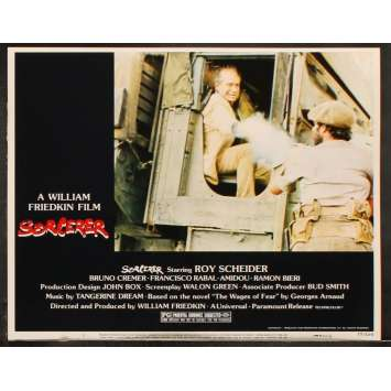 SORCERER US Lobby Card 6 11x14 - 1977 - William Friedkin, Roy Sheider