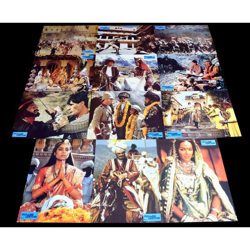 PAVILLONS LOINTAINS Photos de film x12 21x30 - 1983 - Christopher Lee, Peter Dufell