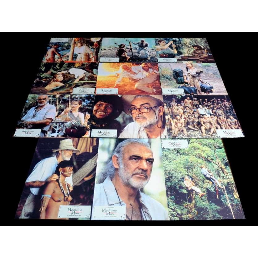 MEDICINE MAN French Lobby Cards x12 9x12 - 1992 - John McTiernan, Sean Connery