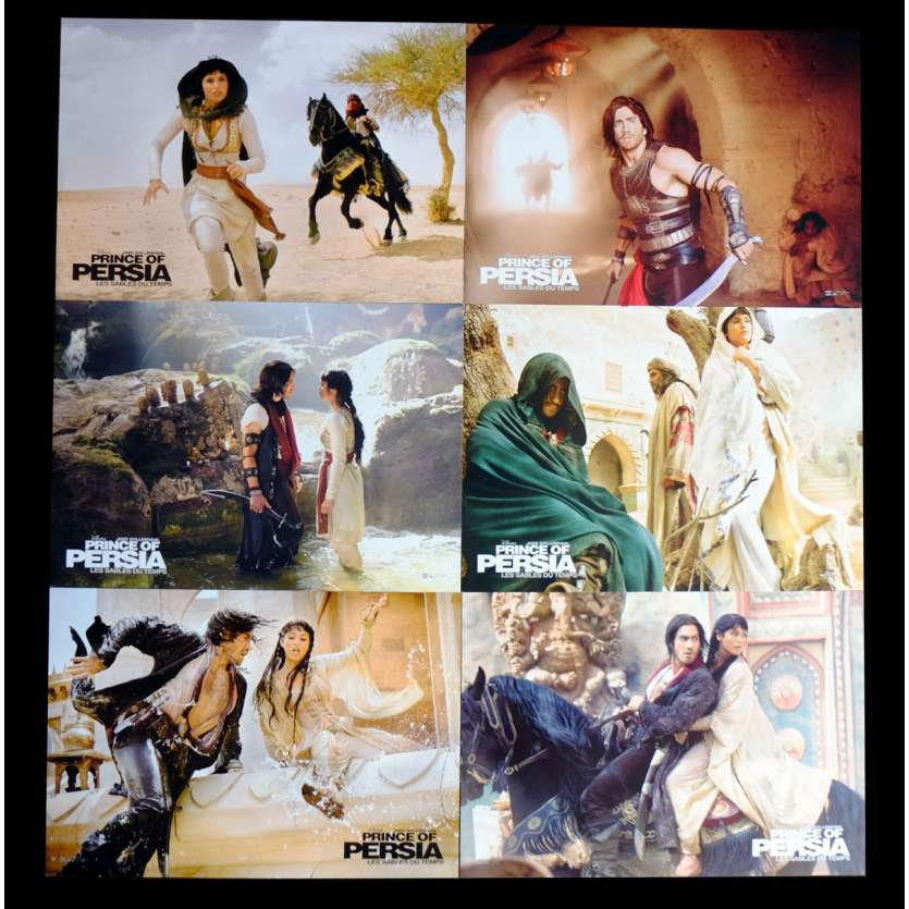 PRINCE OF PERSIA French Lobby Cards x6 9x12 - 2010 - Mike Newell, Jake Gyllenhall